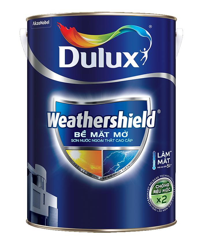 Sơn Ngoại Thất Cao Cấp Dulux Weathershield