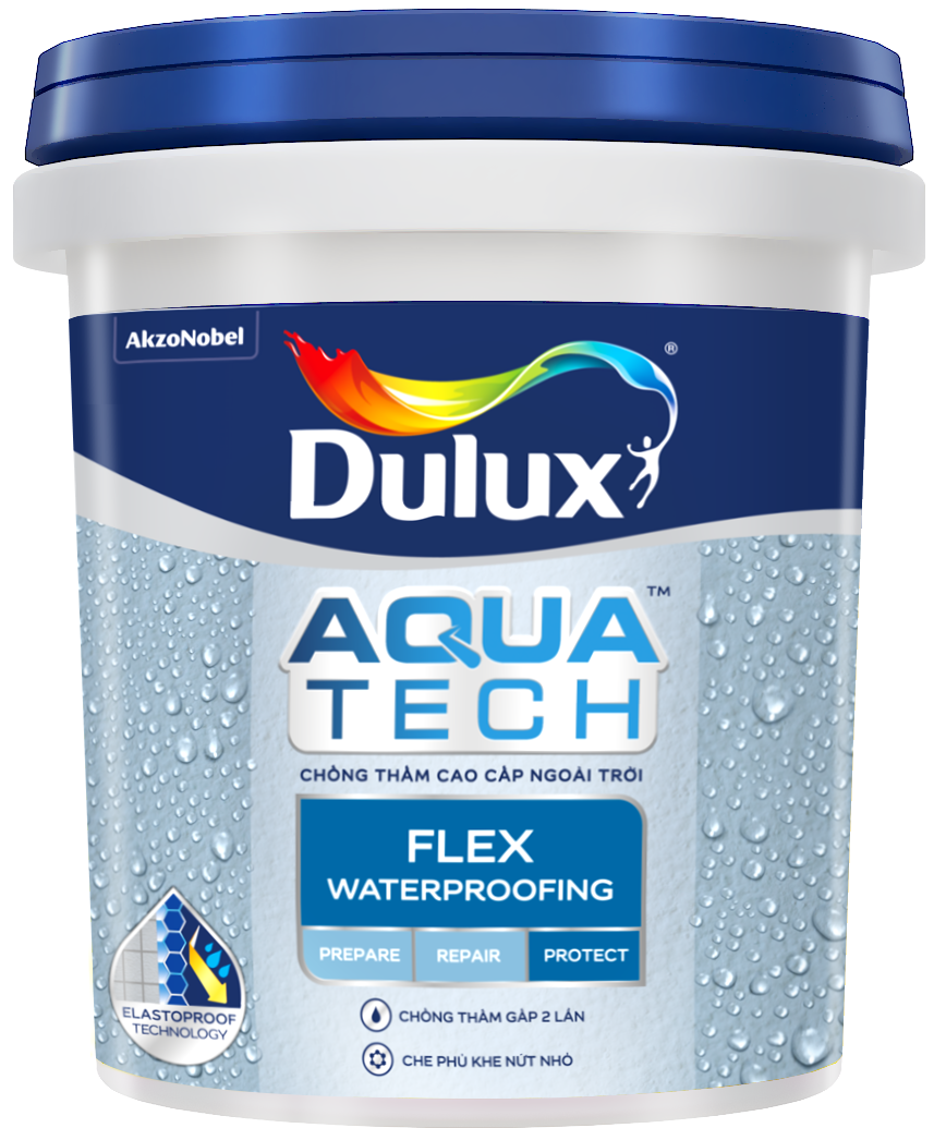 Chất Chống Thấm Dulux Aquatech Flex Waterproofing