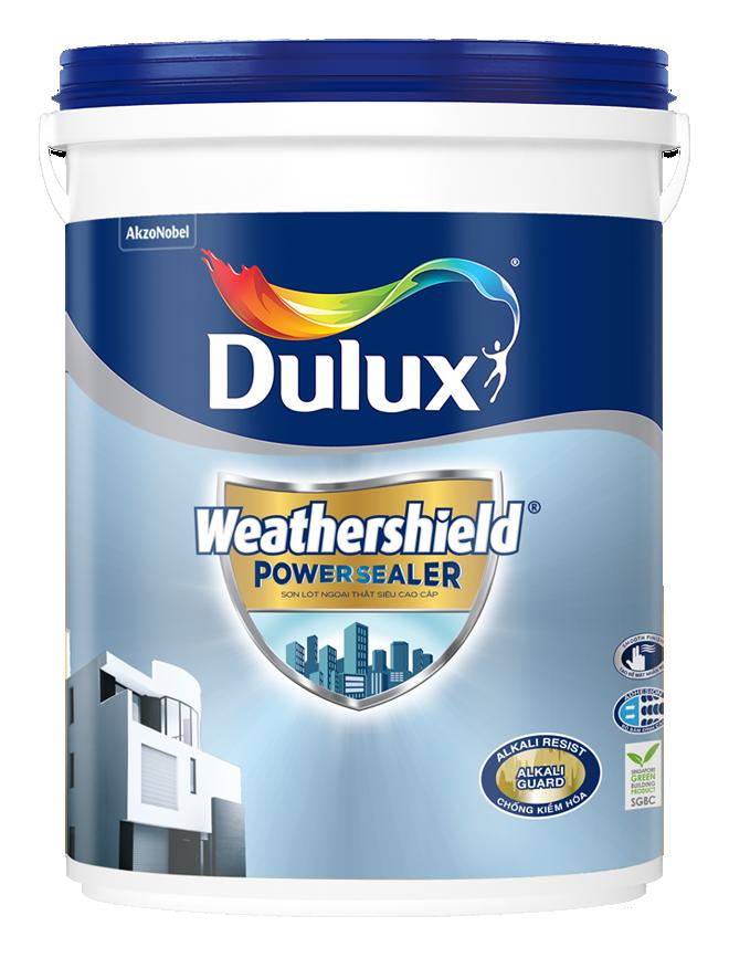 Sơn Lót Ngoại Thất Siêu Cao Cấp Dulux Weathershield Powersealer 18L